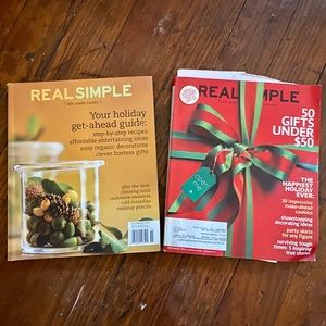 2piece set- Real Simple Thanksgiving Christmas